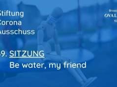 Corona-Ausschuss Sitzung 69: Be water, my friend; Bild: Startbild Youtubevideo