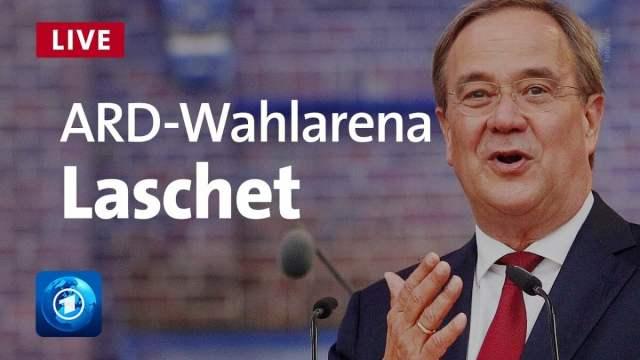 ARD-Wahlarena- Showbühne von Linksextremisten (Bild: ARD-Wahlarena)