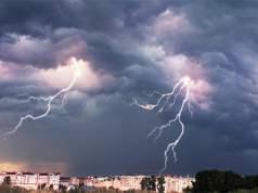 Gewitter mit Blitz und Donner; Bild: Shutterstock