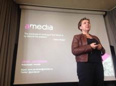 Analysesjef Anne Jacobsen i Amedia