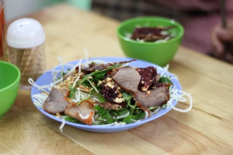beef-papaya-salad-hanoi-street-food-tour