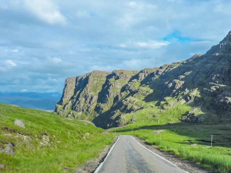 road trip scottish highlands