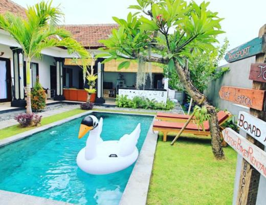 surf lodge hostel bali