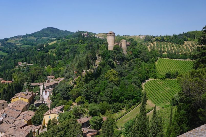 hill towns in italy - brisighella