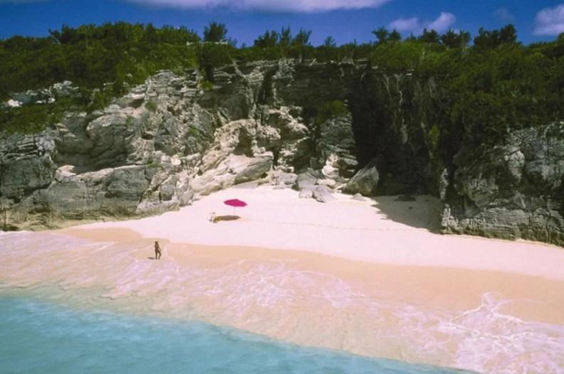 pink beaches bermuda