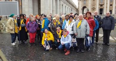 Pèlerinage à Rome : Ecoute et Regarde