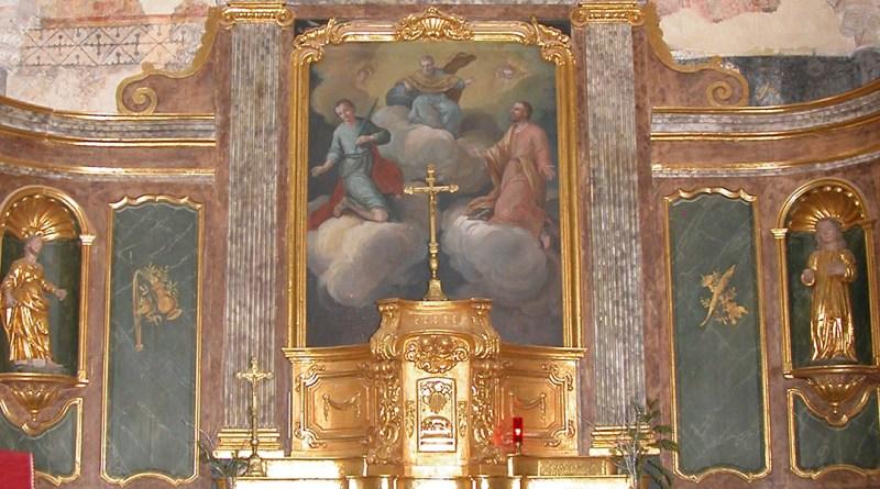 Les retables • trésors de nos églises