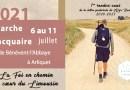 Marche Jacquaire • du 6 au 11 juillet 2021