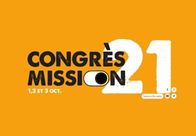 La Rochelle • Congrès Mission les 1er, 2 et 3 octobre
