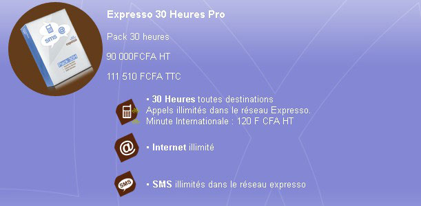 Expresso 30 Heures Pro