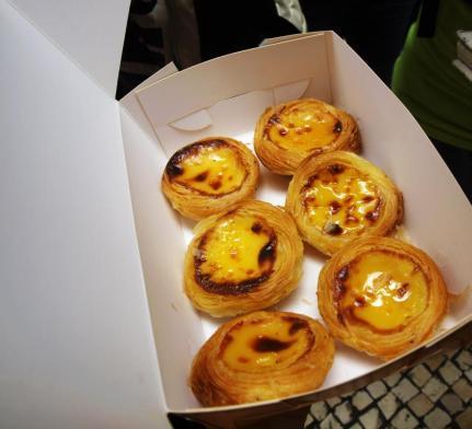 Portugal egg tart
