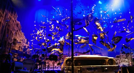 Stage of Hedwig and the Angry Inch