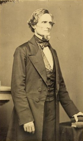 Standing portrait of Jefferson Davis