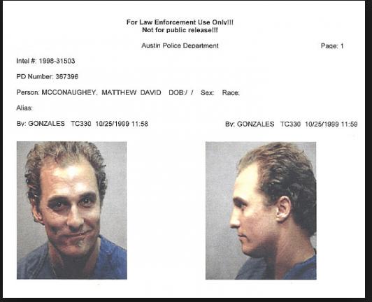 Matthew McConaughey, Austin, Texax, circa 1999