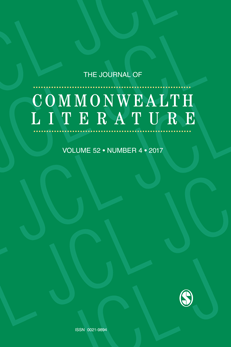 Cover image for latest issue of {{The Journal of Commonwealth Literature}}