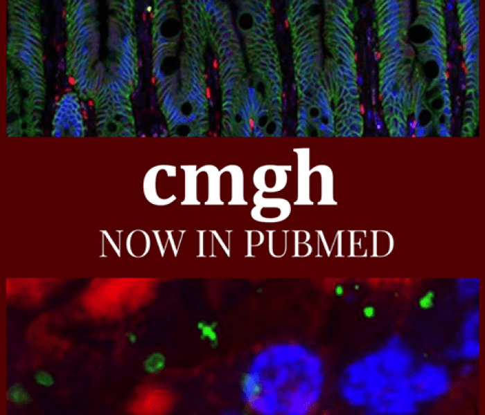 CMGH now Searchable in PubMed!