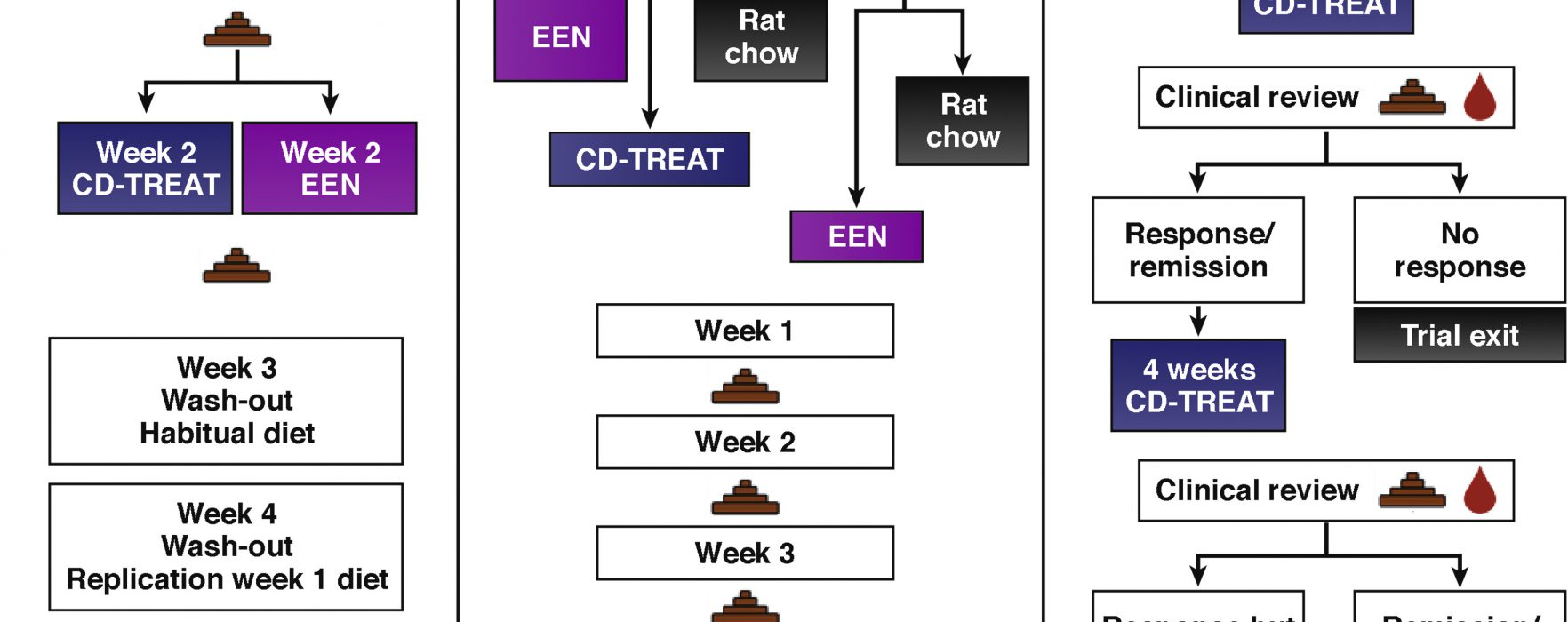 Can a Food-based Diet Replace Exclusive Enteral Nutrition for Patients With Crohn's Disease?