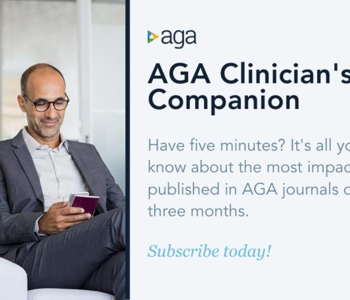Summer Edition of the AGA Clinician's Companion