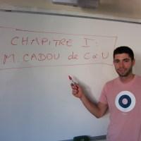 Interview de M. Cadou, professeur d'histoire géographie au lycée