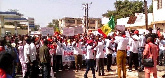 Grève de 48 heures dans l'enseignement supérieur avec le SAES/Saes