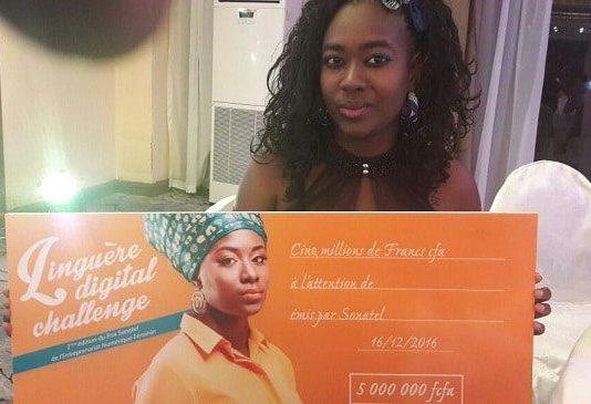 Sonatel prix entreprenariat numérique féminin 2016