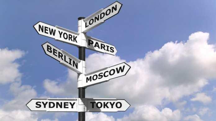 capitales des pays du monde