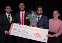 Concours Ericsson innovation Awards 2018
