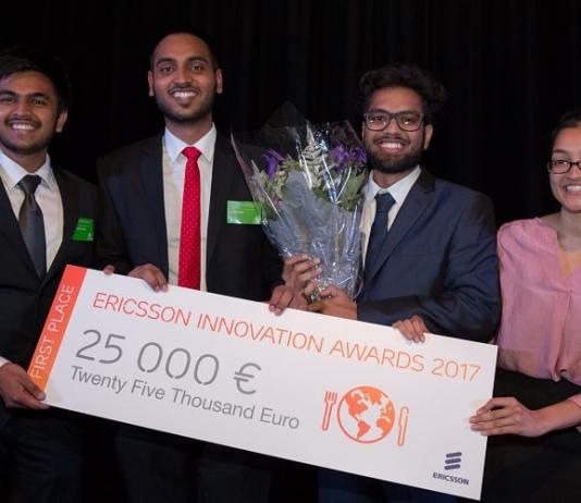 Concours Ericsson innovation Awards 2018/Ericsson Innovation Awards 2018