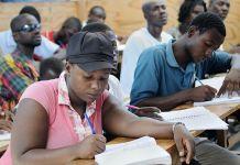 Étudiants haïtiens