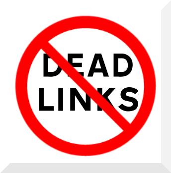 No more dead links