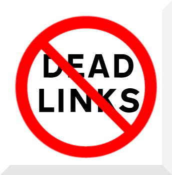 No more dead links