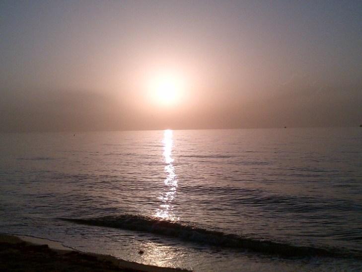 Miami South Beach Sunrise, 2nd July 2012 (My Birthday)