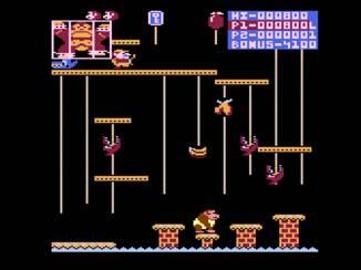 Donkey Kong Jr. on Atari 400