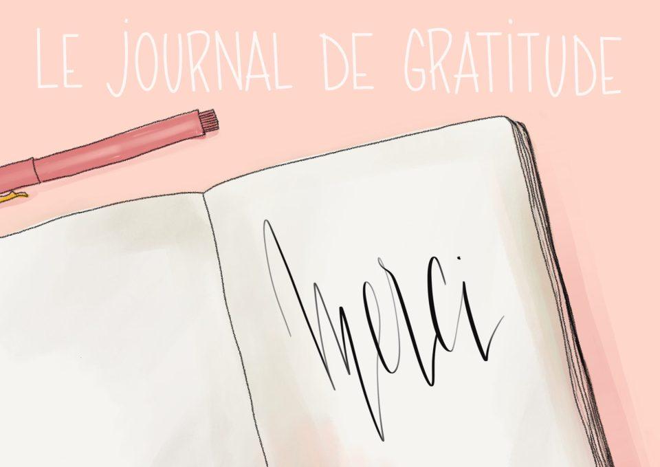 Le journal de gratitude