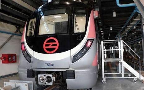 Driverless metro in delhi