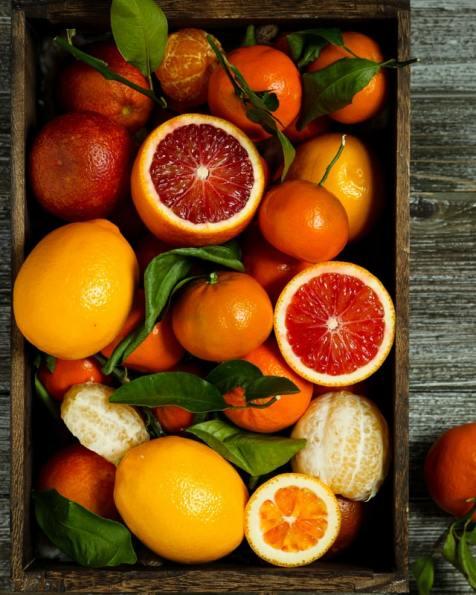 Citrus fruits ; immunity boosting food