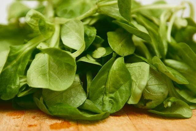 Spinach, dark green leafy vegetables