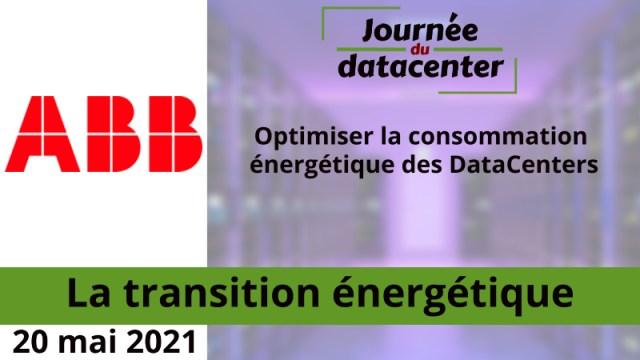 Optimiser la consommation énergétique des DataCenters – ABB