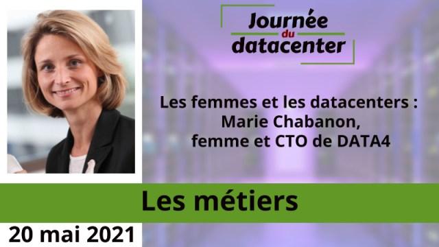 Les femmes et les datacenters : Marie Chabanon, femme et CTO de DATA4