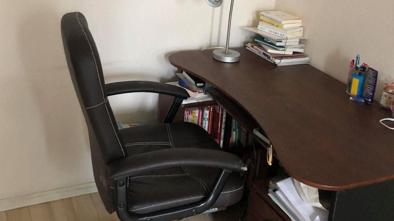木村さんの勉強机