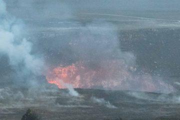 Halemaumau Crater - Hawaii Volcanoes National Park