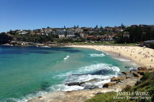 Bronte Beach, another well-known beach in the area.
