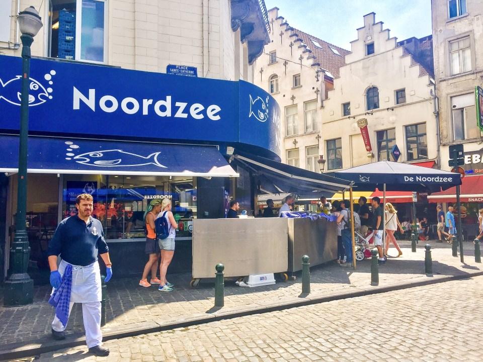Noordzee, Brussels