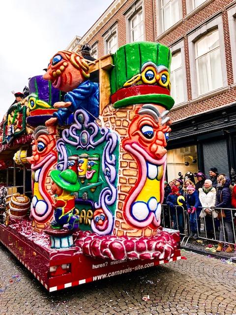 Carnival Maastricht float