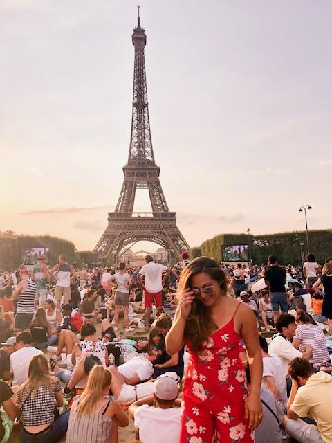 Bastille day, Eiffel Tower