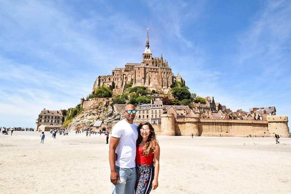 Mont-Saint-Michel, Normandy France