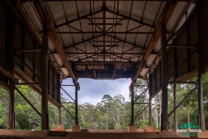 The Gantry shelter at Mt Mee, D'Aguilar National Park, Queemsland, Australia