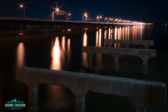 Old Hornibrook Bridge And Ted Smout Memorial Bridge, Moreton Bay