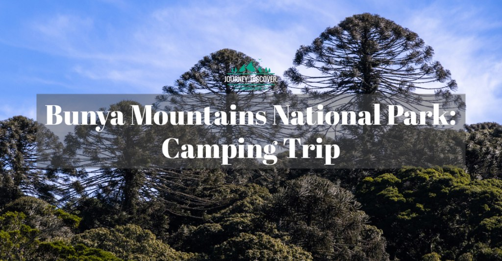 Bunya Mountains National Park Camping Trip
