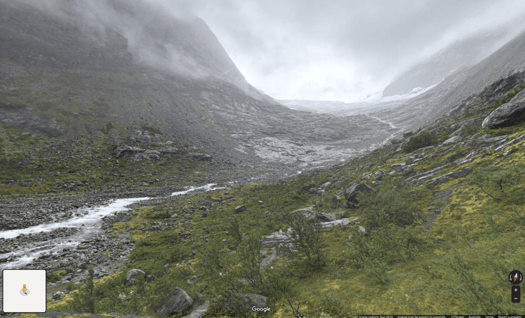 Norway - Briksdalsbreen Glacier